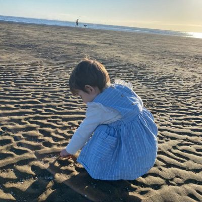 enfant à la plage