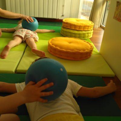 massage avec ballons