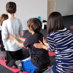atelier massage parent/enfant