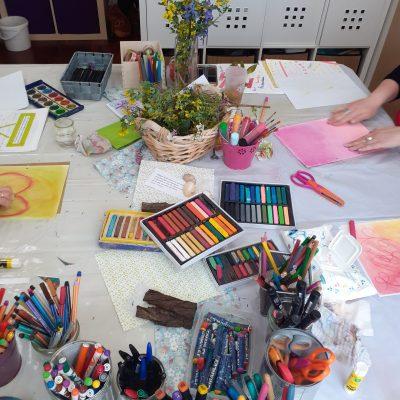 atlier journal créatif