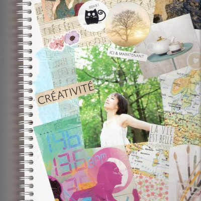 page journal créatif