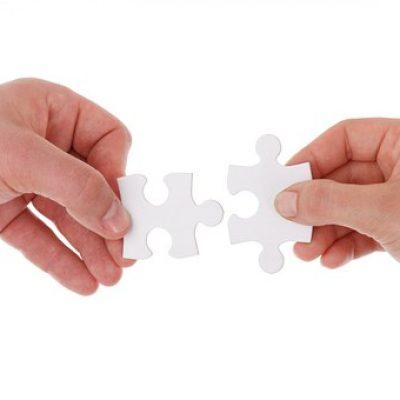 pièces de puzzle à assembler